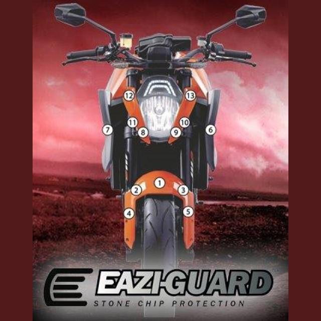 Eazi-Guard Steinschlagschutz Folien KTM Super Duke 1290 R